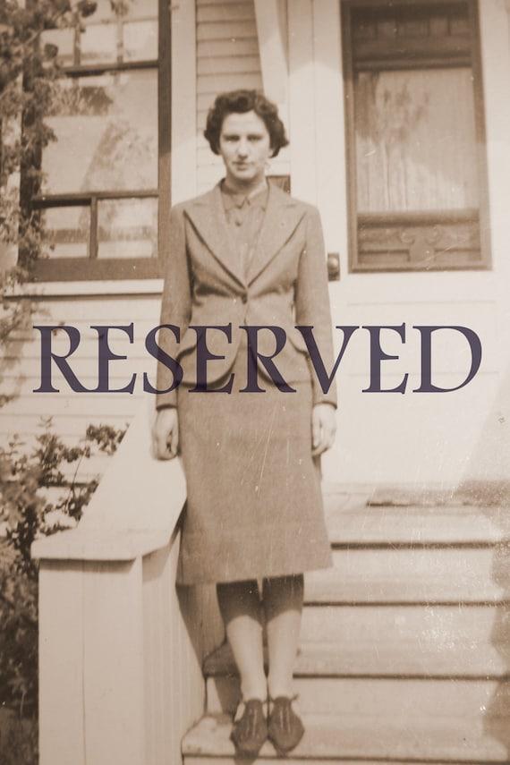 RESERVED Vintage 1930s Dress Camel Beige Deco/ AS Presented