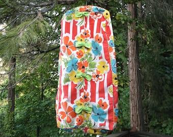 Bold Floral Garment Bag • Toby Tanner by Marjorie Scott