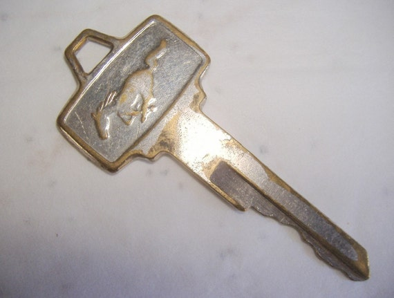 Vintage Car Key 48