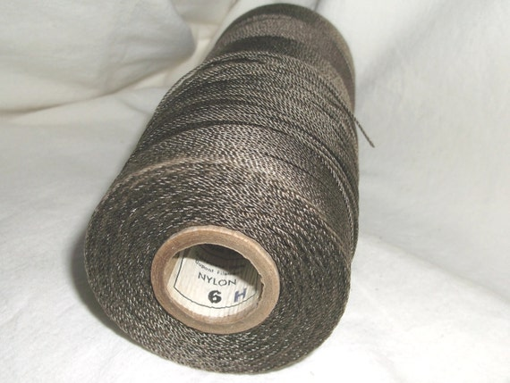 Brownell & Co. Nylon Cord . . . earthy brown . . . Large Spool