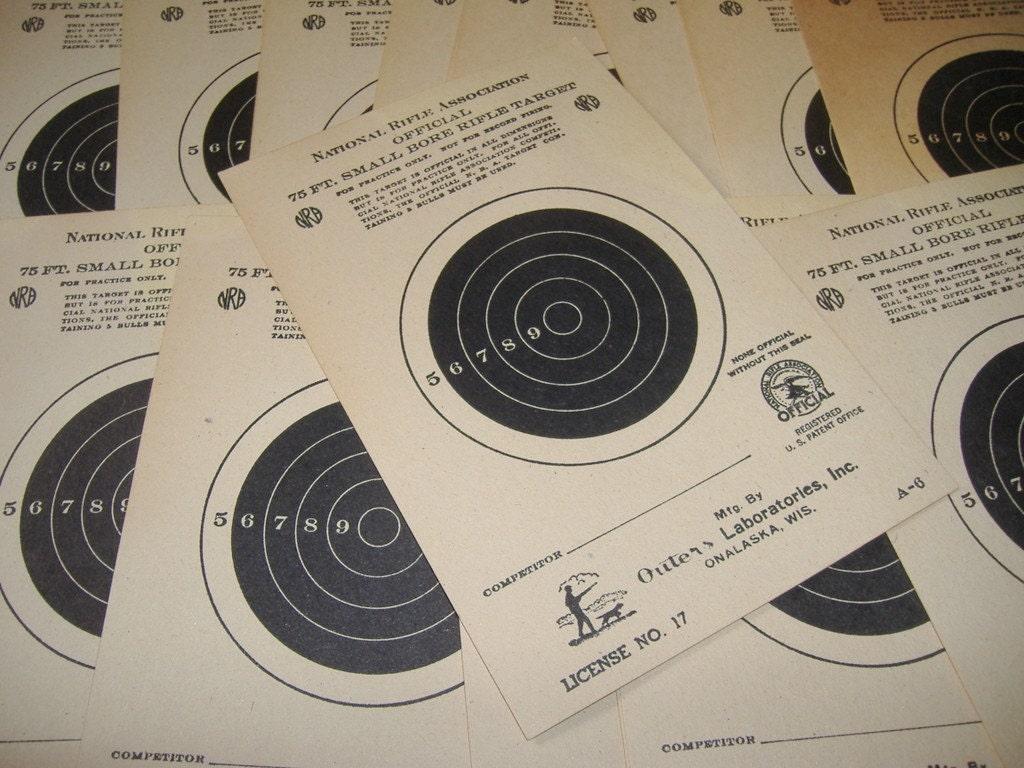 25 Foot Pistol Target Printable – HD Wallpapers