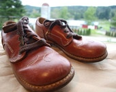 Buckaroo Bonzai Boys Leather Shoes