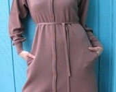 Vintage 1970s Warm and Cozy Sweater Dress