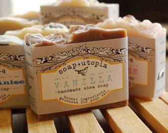 Vanilla soap by Soap Utopia  - 4 oz. cold process -
