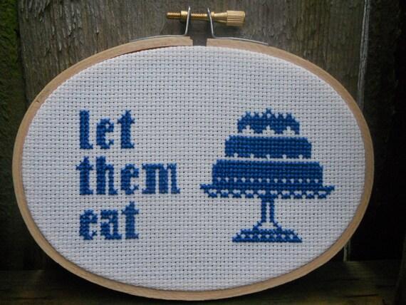 Pattern- Let Them Eat Cake