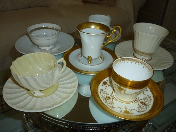 Beautiful Beleek cup And Saucer RESERVED