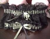 Set of Camouflage Wedding Garters