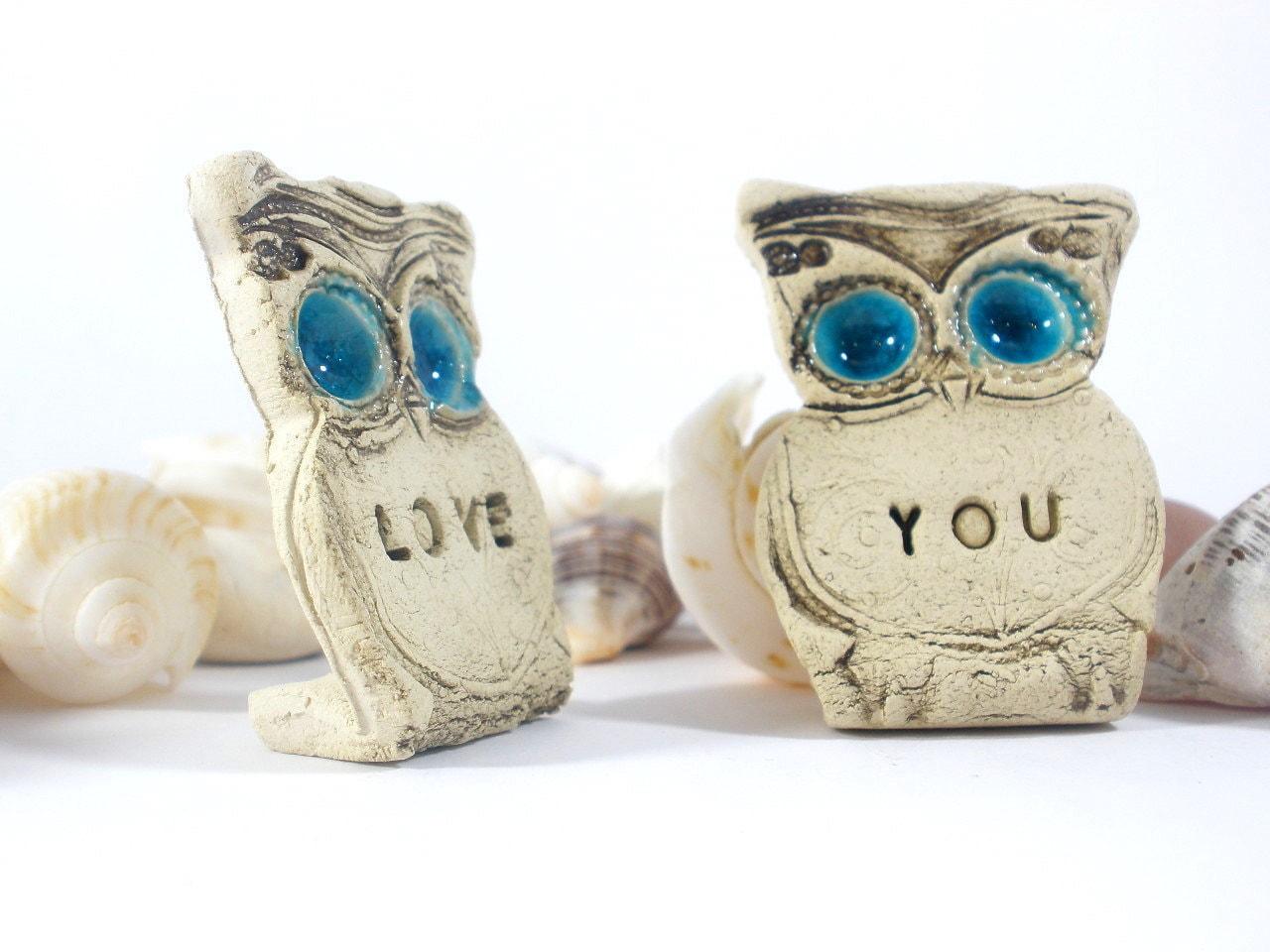 Owls Wedding cake topper Mr & Mrs owls Cute cake by