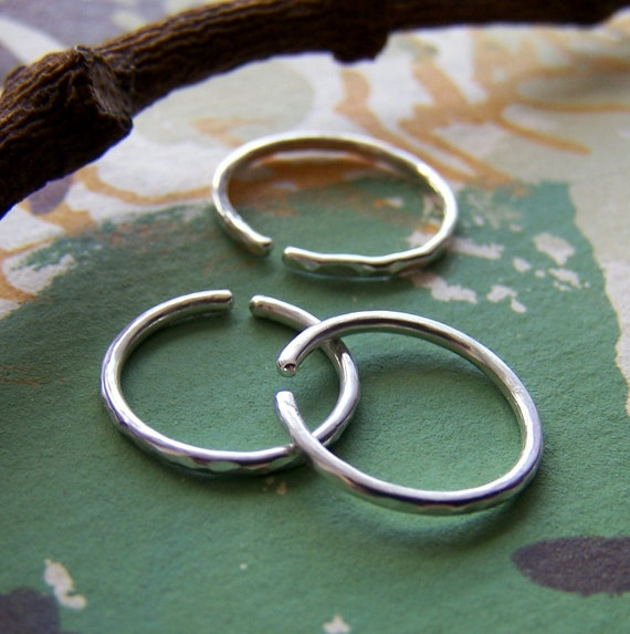The Open Ring - size 1 - Sterling Silver