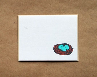 Nest Monogram Stationery