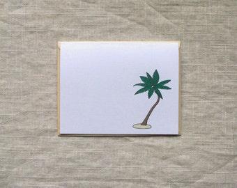 Palm Tree Stationery