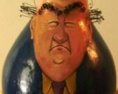 "Gourd birdhouse, ""Old Duffer"""