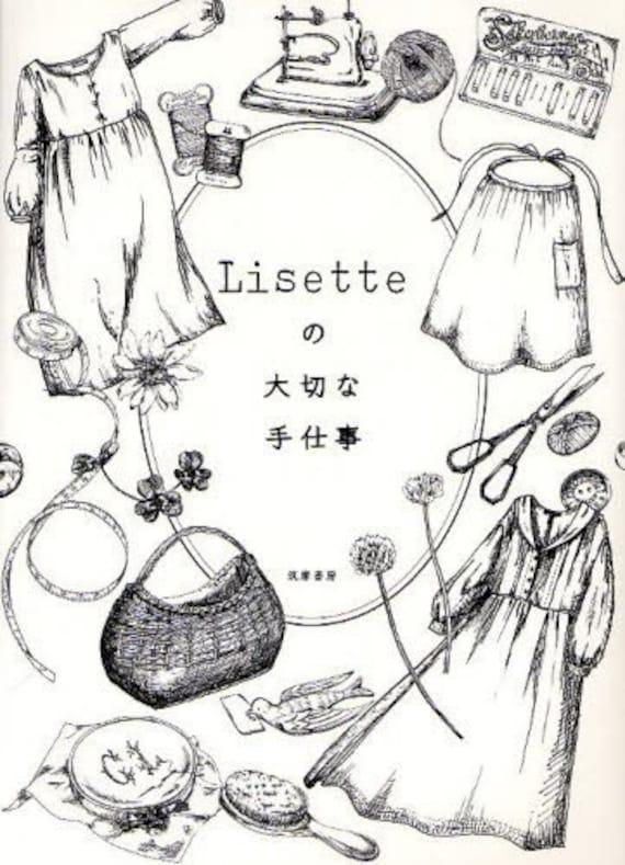 Lisette Precious Handwork - Japanese Sewing Pattern Book for Women - B172