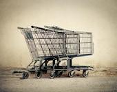 Three Carts - 5 X 7 Fine Art Photo Print