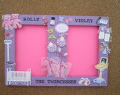 Personalized special request double picture frame OUR SPECIALTY