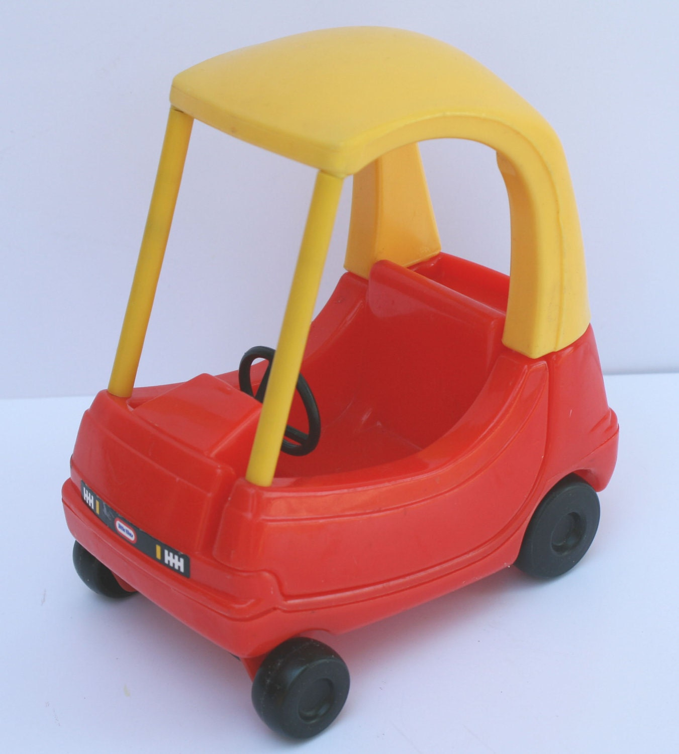 Vintage Little Tikes Mini Cozy Coupe Dollhouse Size Car