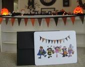 Halloween Kids Postcards--package of 6