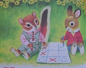 Richard Scarry Chipmunk ABCs VINTAGE Childrens Book
