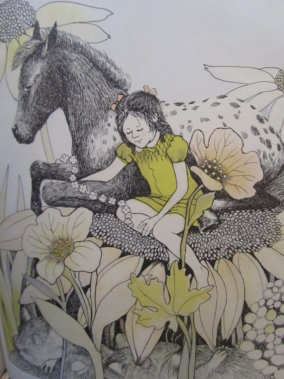 All the Pretty Horses VINTAGE Childrens Book