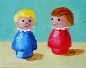 Friends painting 6x8