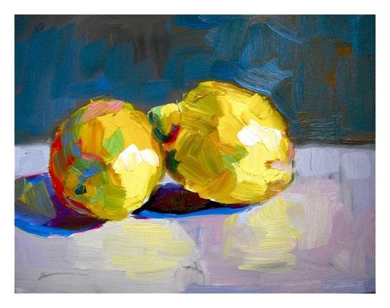 Lemons  print 8x10