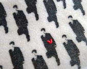 Love Japan zipper pouch for iphone ipod or digital camera