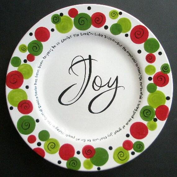Custom Painted Platters