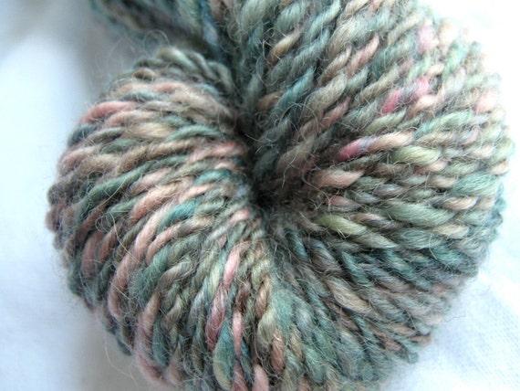 Handspun Yarn - Worsted Aran Weight - Simple Melody 261 Yards BFL