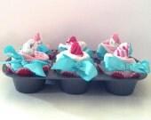 Onesies and socks Cupcake Baking set
