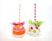 Featured on The Hot Glue Hangover Two Candy Apple Onesie Gift Sets