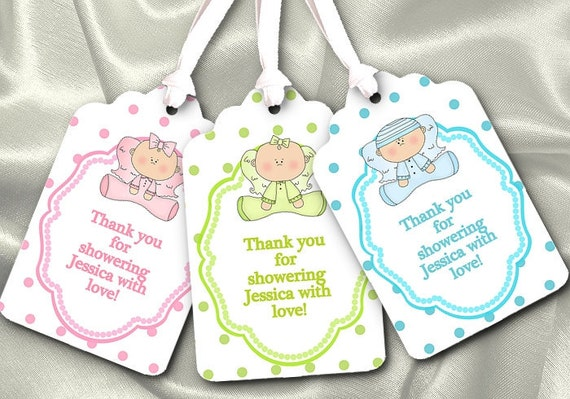 baby shower favor tags car interior design
