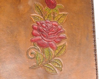Info Made-to-Order Leather Book Cover