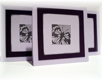 Madam Butterfly mini note CARDS set of six