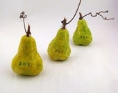 Pear for the Table - Joy - Ready to Ship for the Holidays