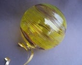 Blown Glass Christmas Ornament/Ball/Suncatcher