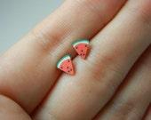 SALE SALE SALE Watermelons stud earrings