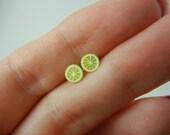 SALE SALE SALE Lemon stud earrings