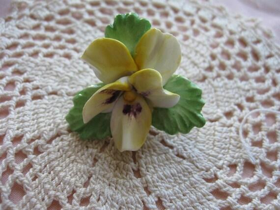 TREASURY ITEM -Royal Adderley Violet Pin