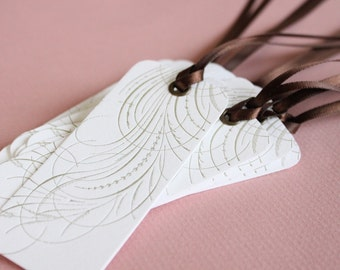 Flair Letterpress Printed Gift Tags QTY/8