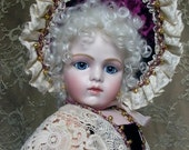 Bru jne 13 Bebe French Antique Reproduction bisque doll by Emily Hart