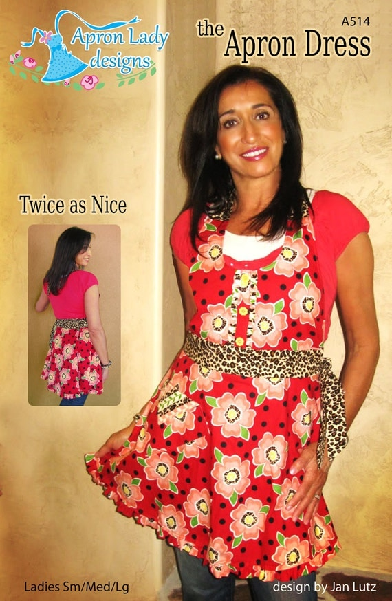 Apron Dress Twice as Nice