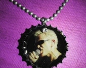 Billy Idol Bottle Cap Necklace