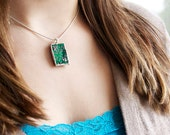 Circuit Board Necklace - a Geek Gift that Sparkles :o)