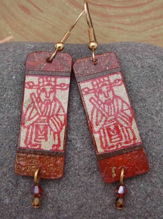 Lucky men earrings