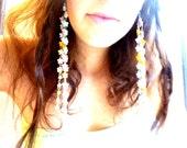 Iridella star earrings