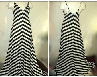 Sexy A-lined long  maxi dress