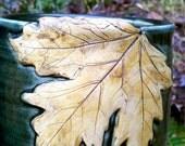Crock Maple Leaf
