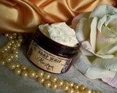 Marzipan  (soap whip--almonds, vanilla shortbread, bourbon)
