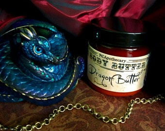 Dragon Butter (body butter--dragons blood, vanilla, nutmeg, cocoa)