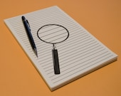 Magnifying Glass Notepad